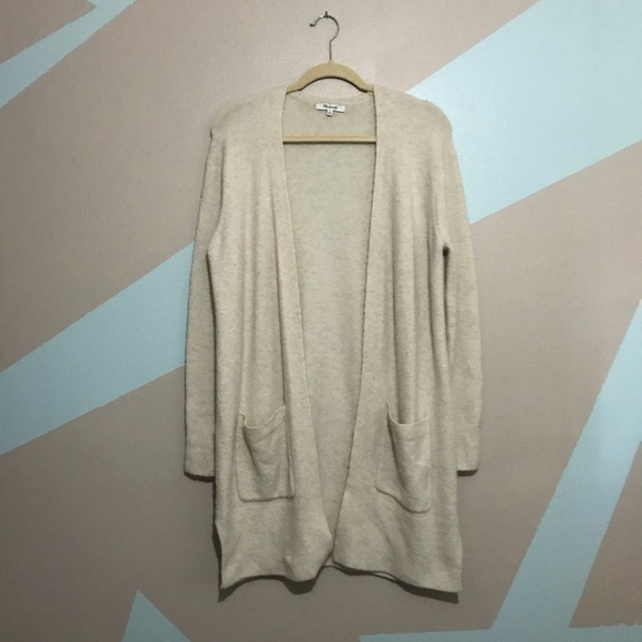 178ee58acee Madewell Sweaters - Madewell Kent Cardigan Sweater in Coziest Yarn XS
